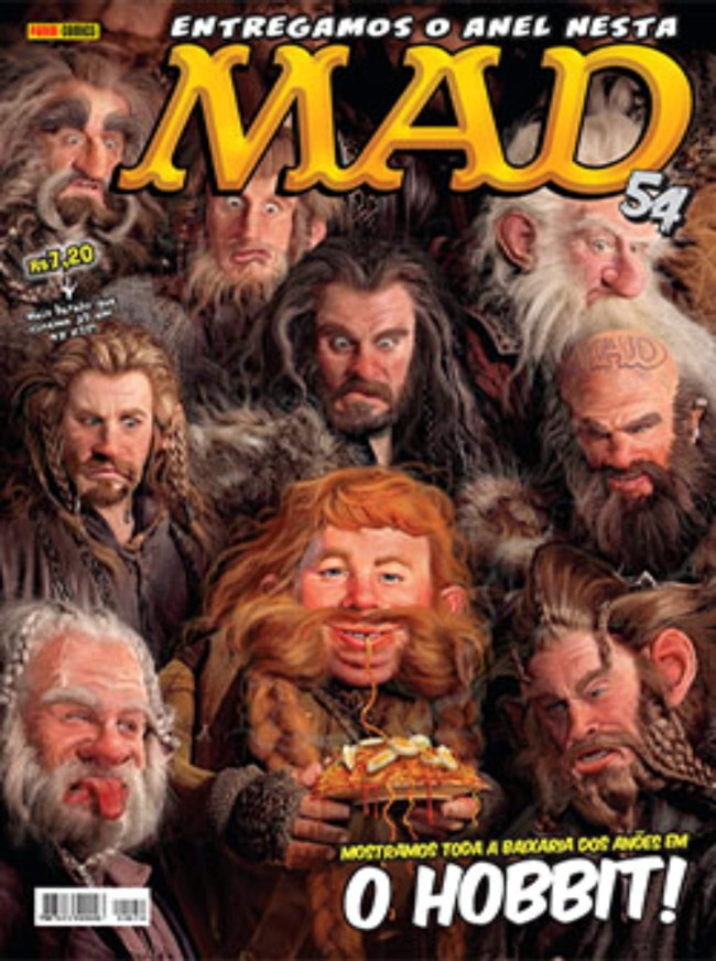 MAD Magazine #54 • Brasil • 4th Edition - Panini