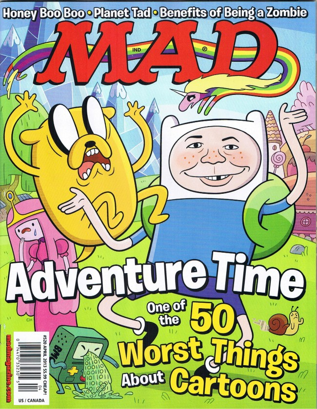 MAD Magazine #520 • USA • 1st Edition - New York