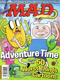 Go to MAD Magazine #520 • USA • 1st Edition - New York