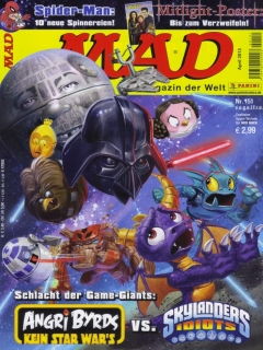 Go to MAD Magazine #151 • Germany • 2nd Edition - Dino/Panini