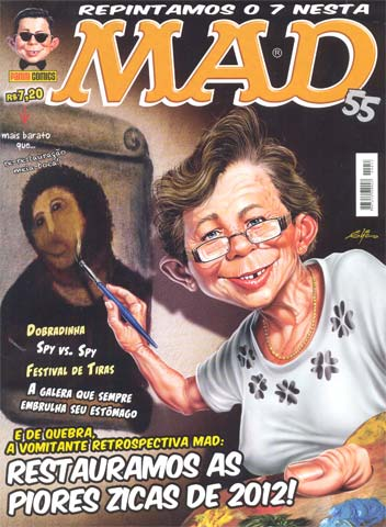 MAD Magazine #55 • Brasil • 4th Edition - Panini