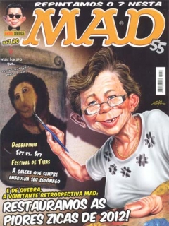 Go to MAD Magazine #55 • Brasil • 4th Edition - Panini