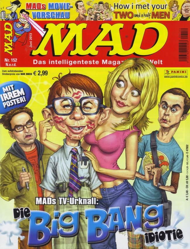 MAD Magazine #152 • Germany • 2nd Edition - Dino/Panini