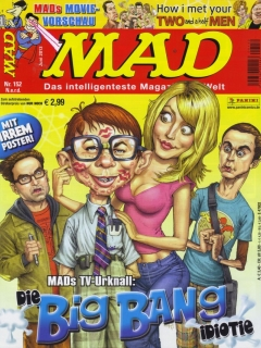 Go to MAD Magazine #152 • Germany • 2nd Edition - Dino/Panini
