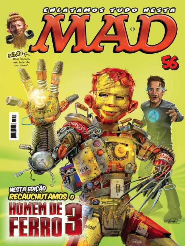 MAD Magazine #56 • Brasil • 4th Edition - Panini