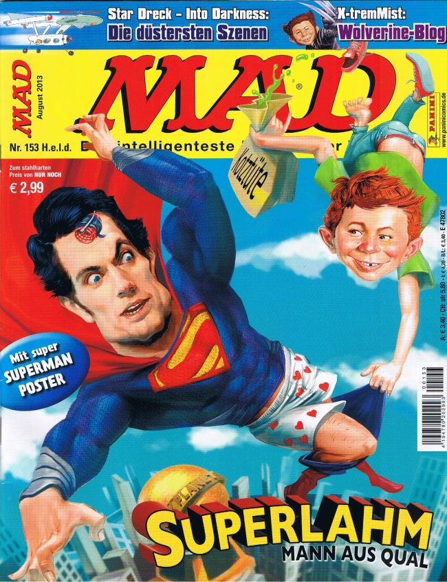 MAD Magazine #153 • Germany • 2nd Edition - Dino/Panini