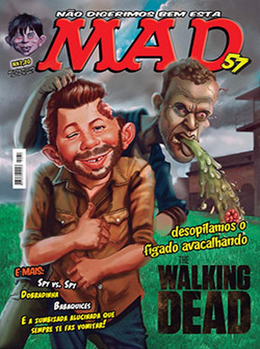 MAD Magazine #57 • Brasil • 4th Edition - Panini