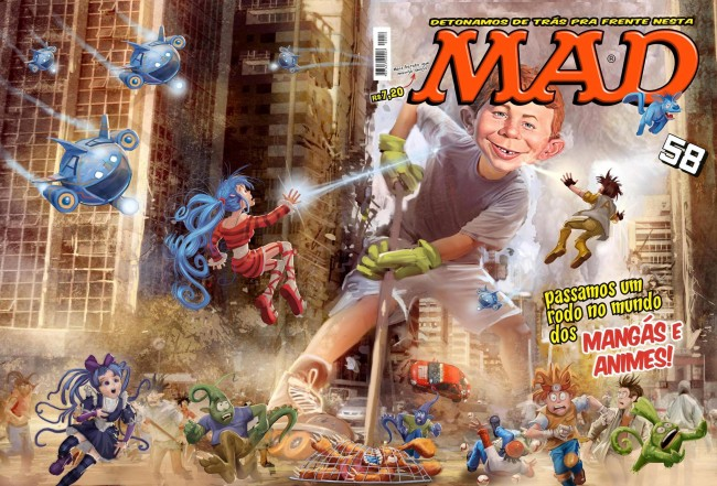 MAD Magazine #58 • Brasil • 4th Edition - Panini