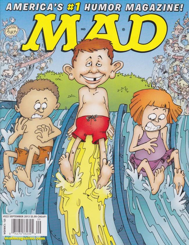 MAD Magazine #522 • USA • 1st Edition - New York