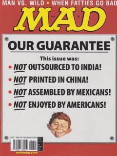 Go to MAD Magazine #421