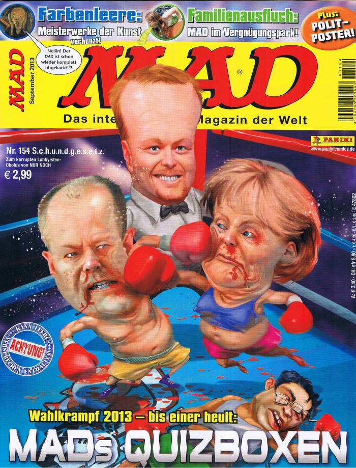 MAD Magazine #154 • Germany • 2nd Edition - Dino/Panini