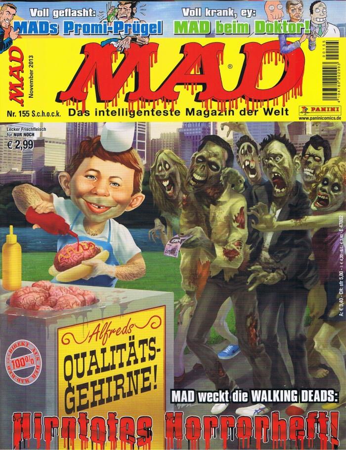 MAD Magazine #155 • Germany • 2nd Edition - Dino/Panini
