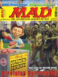 Go to MAD Magazine #155 • Germany • 2nd Edition - Dino/Panini