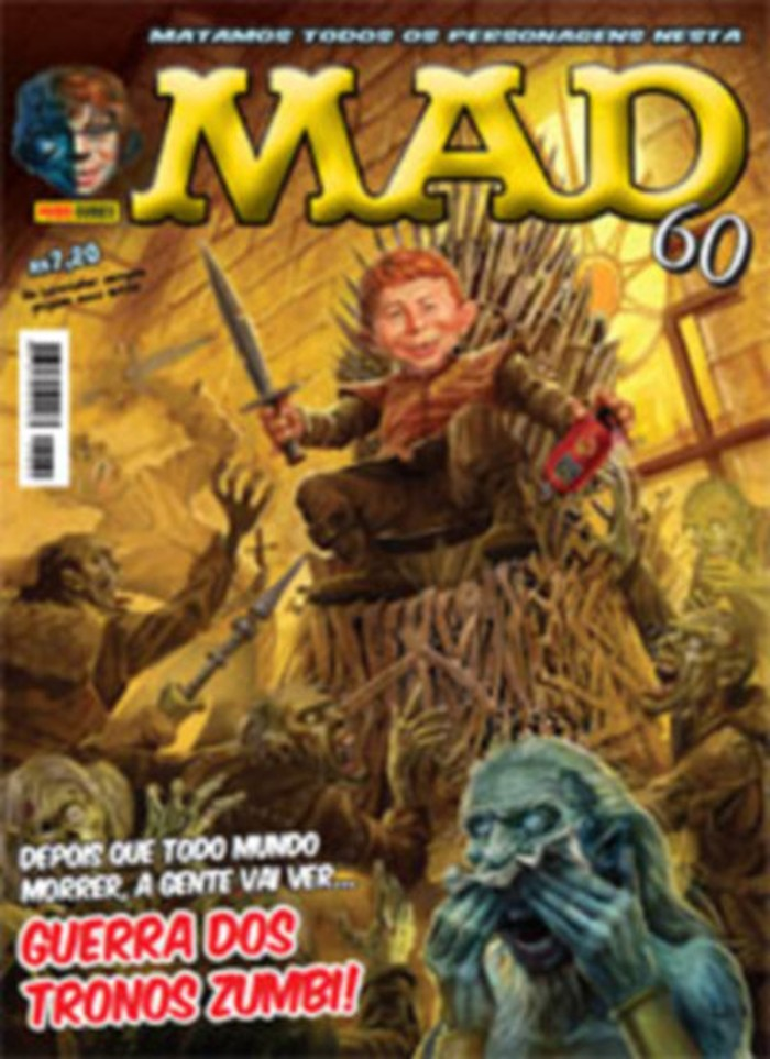 MAD Magazine #60 • Brasil • 4th Edition - Panini