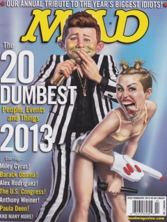 Go to MAD Magazine #525