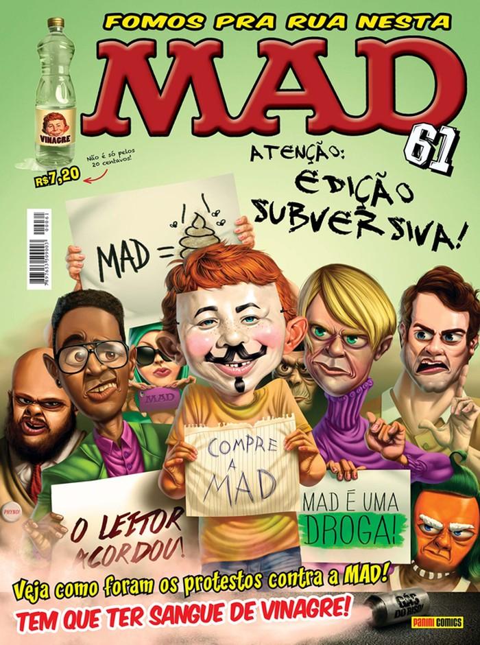 MAD Magazine #61 • Brasil • 4th Edition - Panini