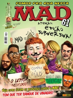 Go to MAD Magazine #61 • Brasil • 4th Edition - Panini