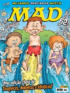 Go to MAD Magazine #62 • Brasil • 4th Edition - Panini