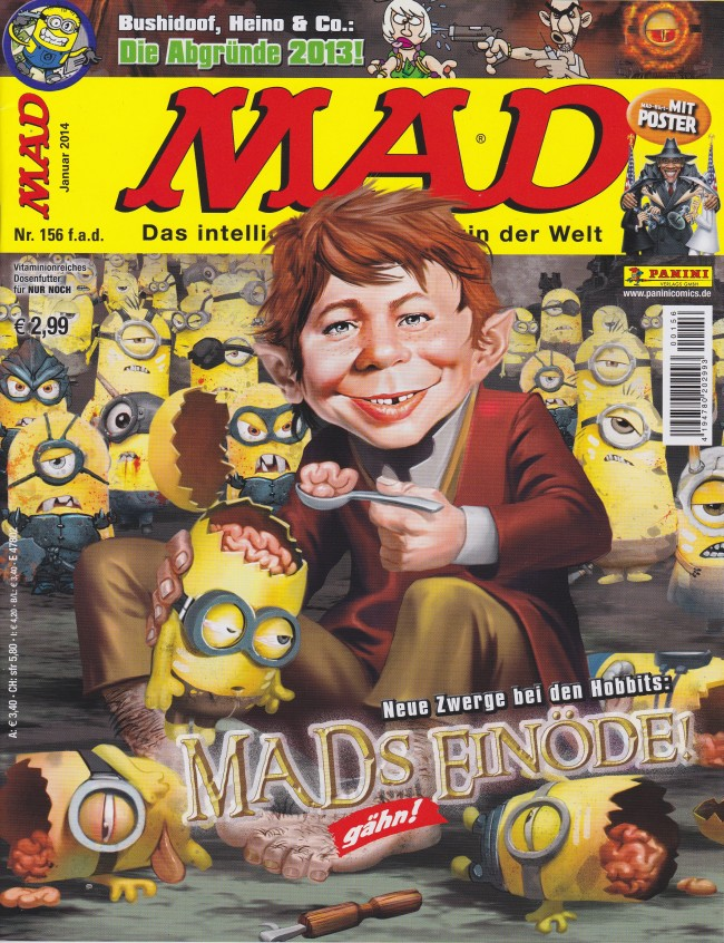 MAD Magazine #156 • Germany • 2nd Edition - Dino/Panini