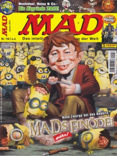 Go to MAD Magazine #156 • Germany • 2nd Edition - Dino/Panini