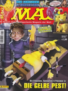 Go to MAD Magazine #157 • Germany • 2nd Edition - Dino/Panini