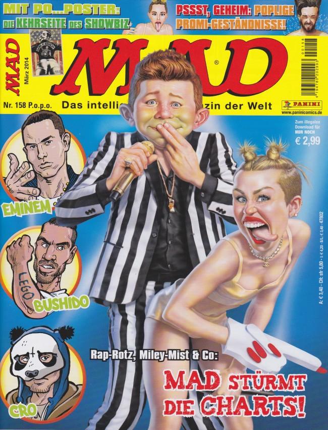 MAD Magazine #158 • Germany • 2nd Edition - Dino/Panini