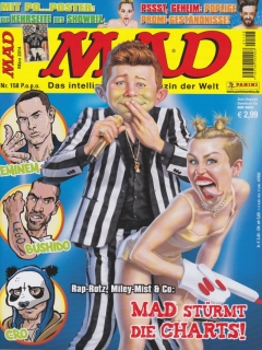 Go to MAD Magazine #158 • Germany • 2nd Edition - Dino/Panini