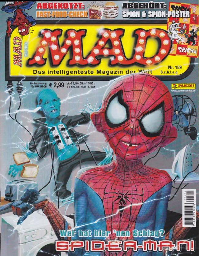 MAD Magazine #159 • Germany • 2nd Edition - Dino/Panini