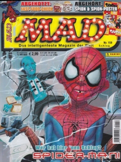 Go to MAD Magazine #159 • Germany • 2nd Edition - Dino/Panini