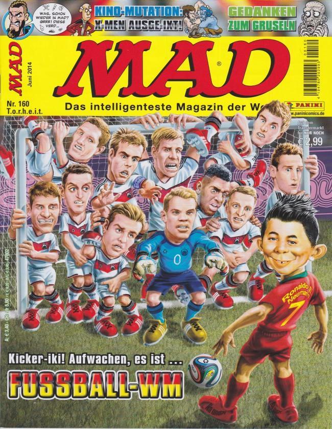 MAD Magazine #160 • Germany • 2nd Edition - Dino/Panini