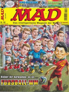 Go to MAD Magazine #160 • Germany • 2nd Edition - Dino/Panini
