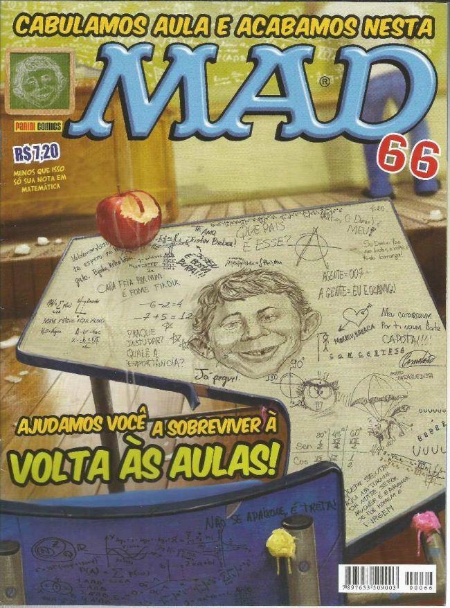 MAD Magazine #66 • Brasil • 4th Edition - Panini