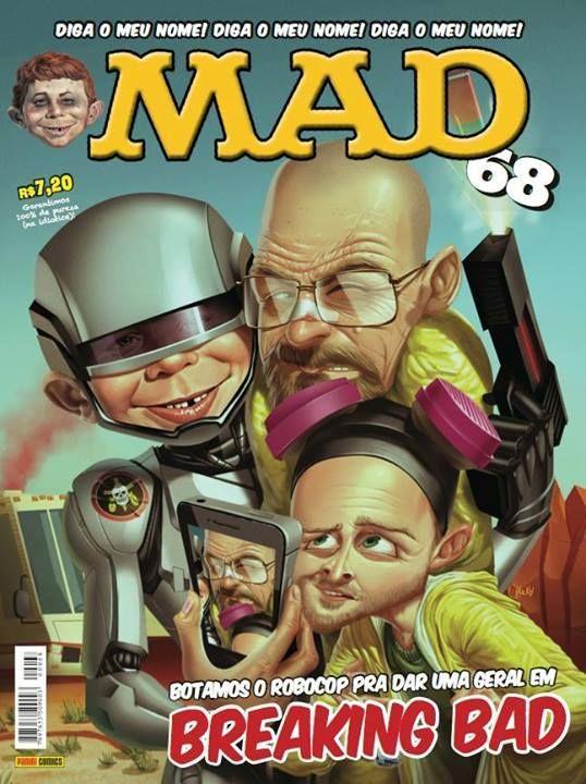 MAD Magazine #68 • Brasil • 4th Edition - Panini