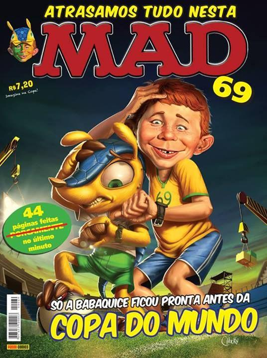 MAD Magazine #69 • Brasil • 4th Edition - Panini