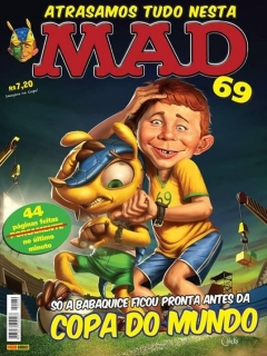 Go to MAD Magazine #69 • Brasil • 4th Edition - Panini