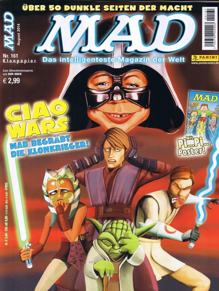 MAD Magazine #161 • Germany • 2nd Edition - Dino/Panini