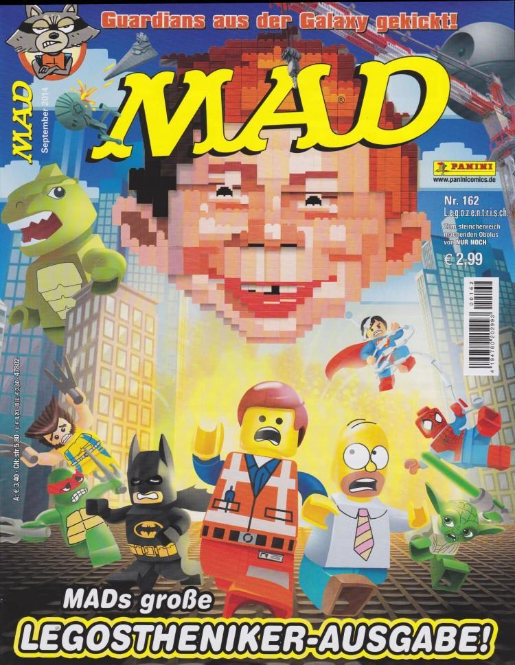 MAD Magazine #162 • Germany • 2nd Edition - Dino/Panini