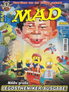 Go to MAD Magazine #162 • Germany • 2nd Edition - Dino/Panini