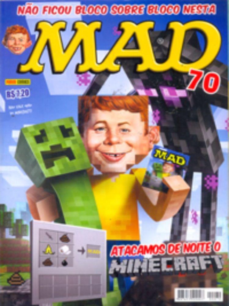 MAD Magazine #70 • Brasil • 4th Edition - Panini