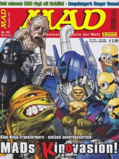 Go to MAD Magazine #163 • Germany • 2nd Edition - Dino/Panini