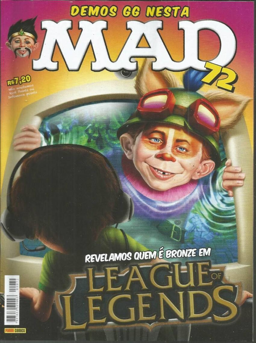 MAD Magazine #72 • Brasil • 4th Edition - Panini
