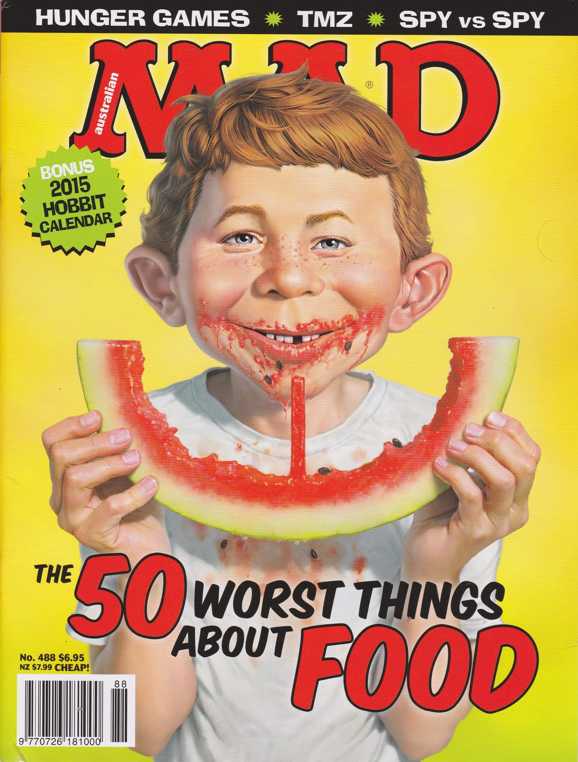 MAD Magazine #488 • Australia