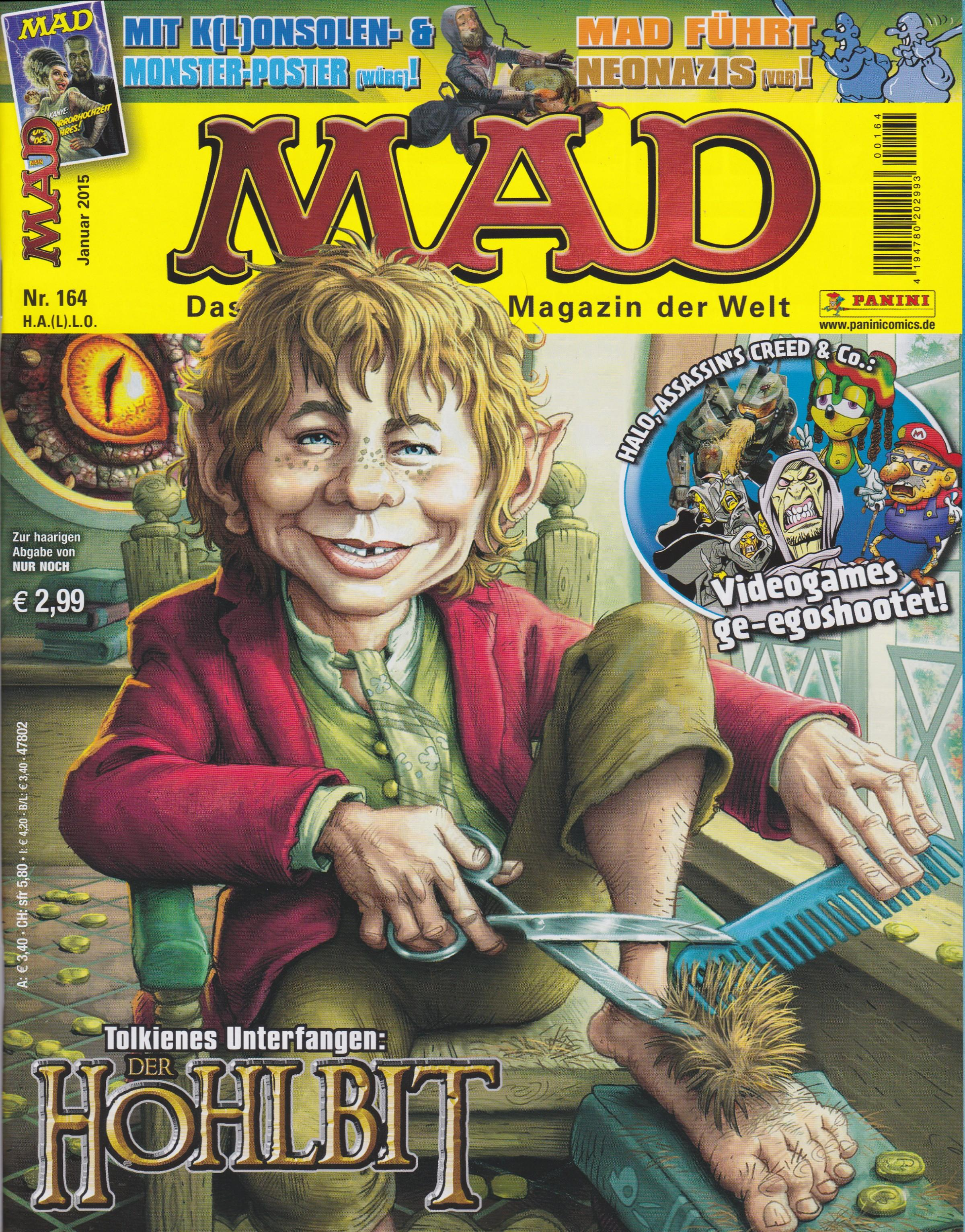 MAD Magazine #164 • Germany • 2nd Edition - Dino/Panini