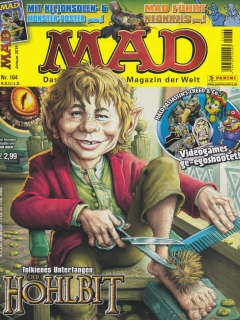 Go to MAD Magazine #164 • Germany • 2nd Edition - Dino/Panini