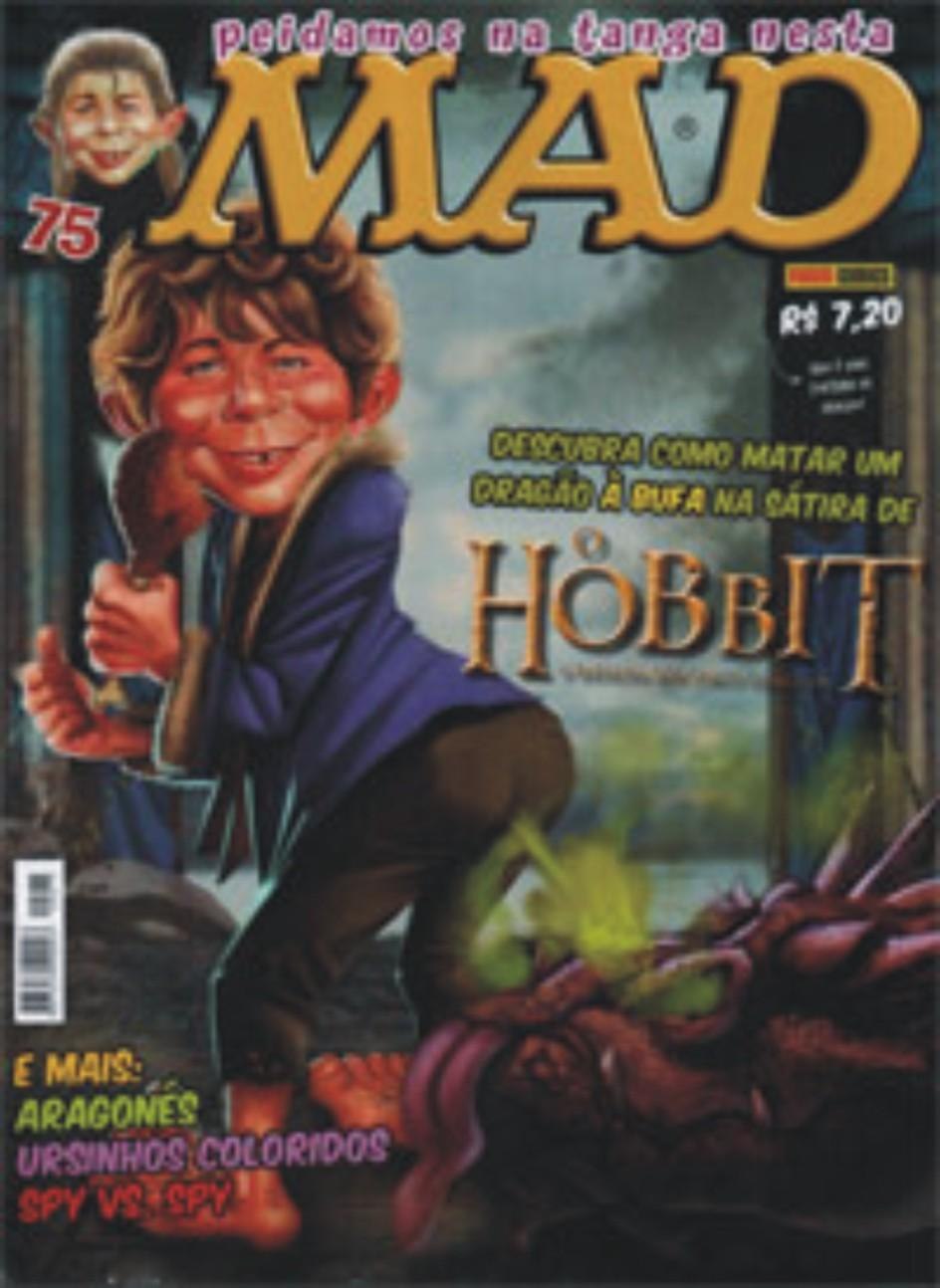 MAD Magazine #75 • Brasil • 4th Edition - Panini