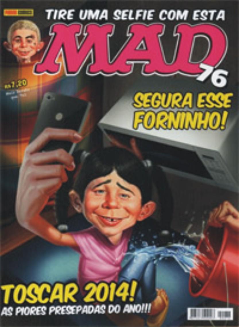MAD Magazine #76 • Brasil • 4th Edition - Panini