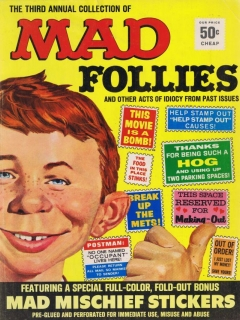 Go to MAD Follies #3 • USA • 1st Edition - New York
