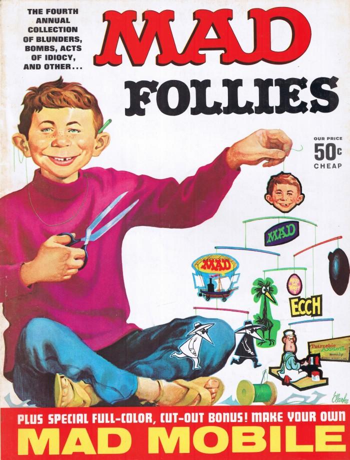MAD Follies #4 • USA • 1st Edition - New York