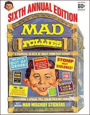 MAD Follies #6 • USA • 1st Edition - New York