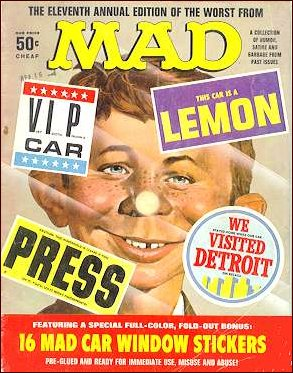 The Worst from MAD #11 • USA • 1st Edition - New York